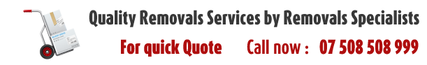 Removals in Central London